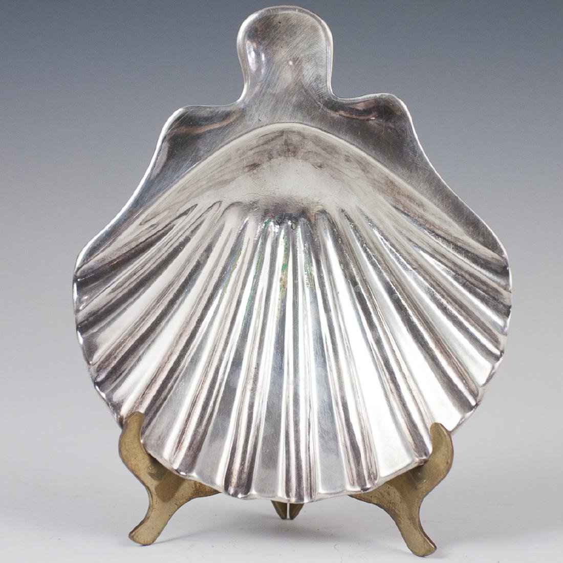 Christofle Silver Plated Shell Dish