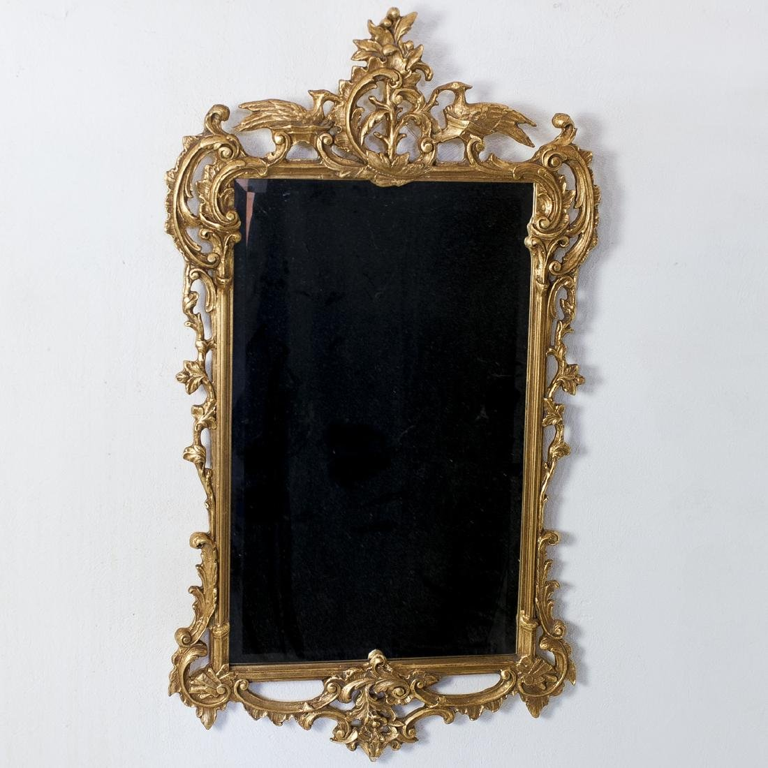 Vintage Gilt Composite Mirror
