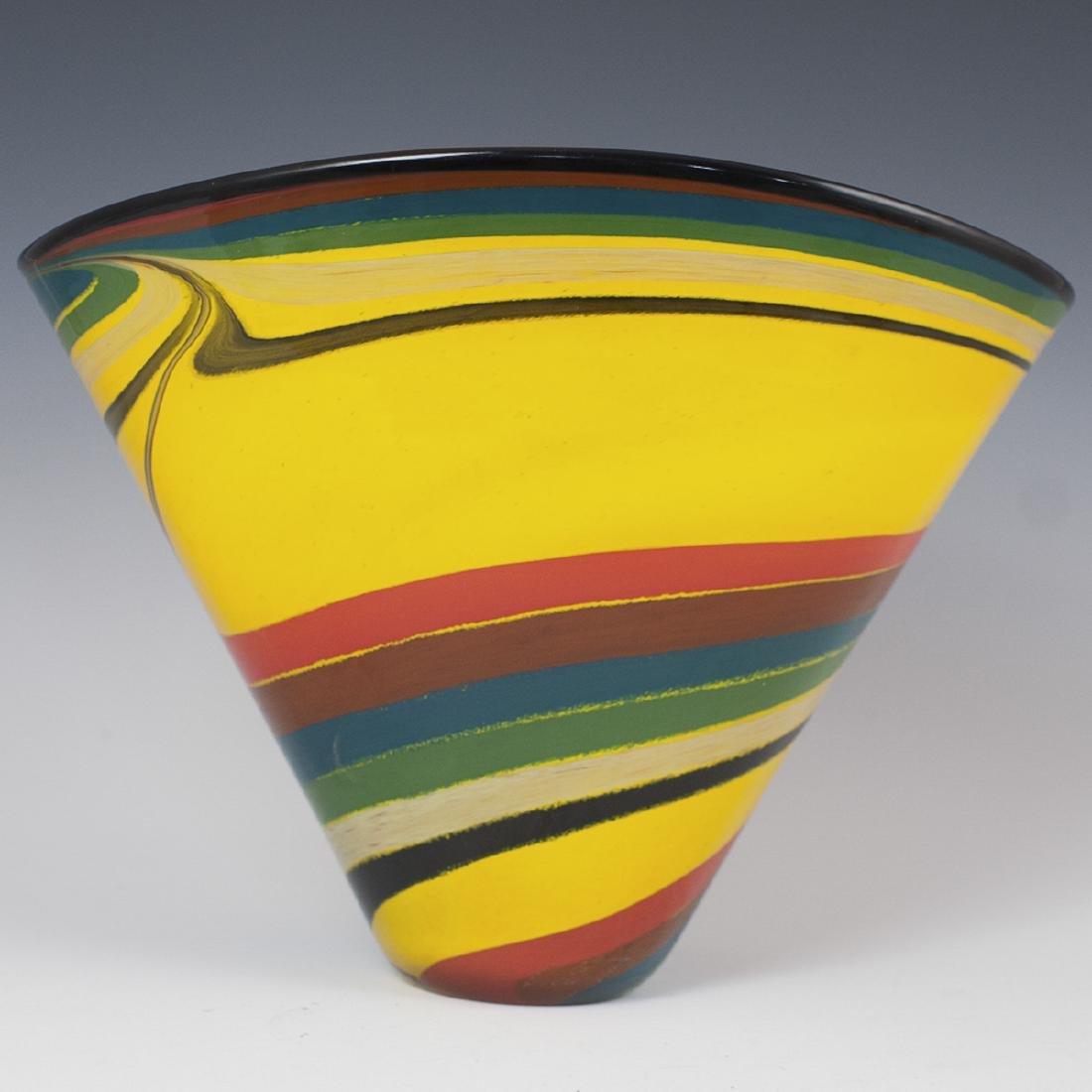 Signed Murano Glass Vase