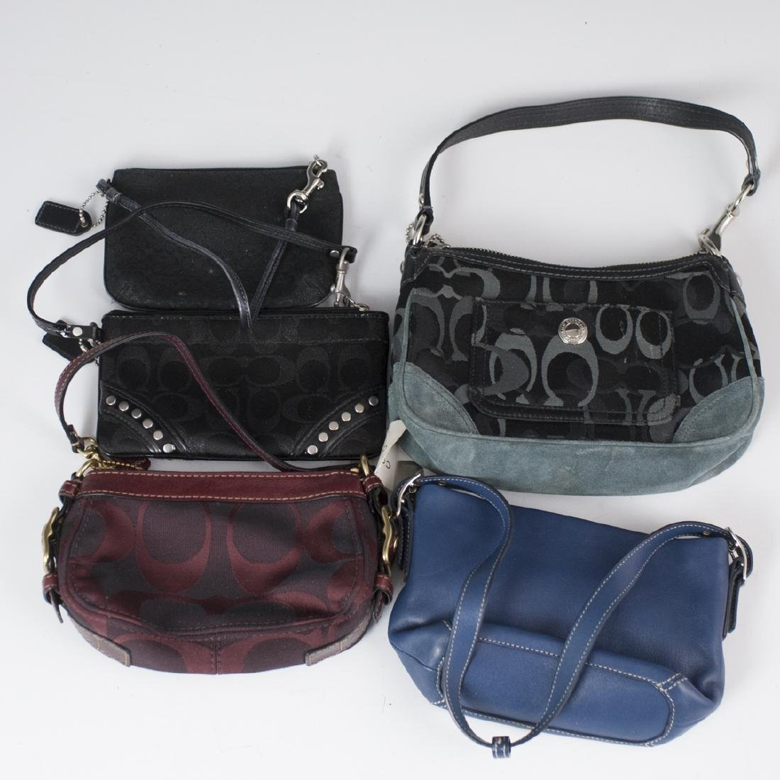 Vintage Coach Clutch Bags