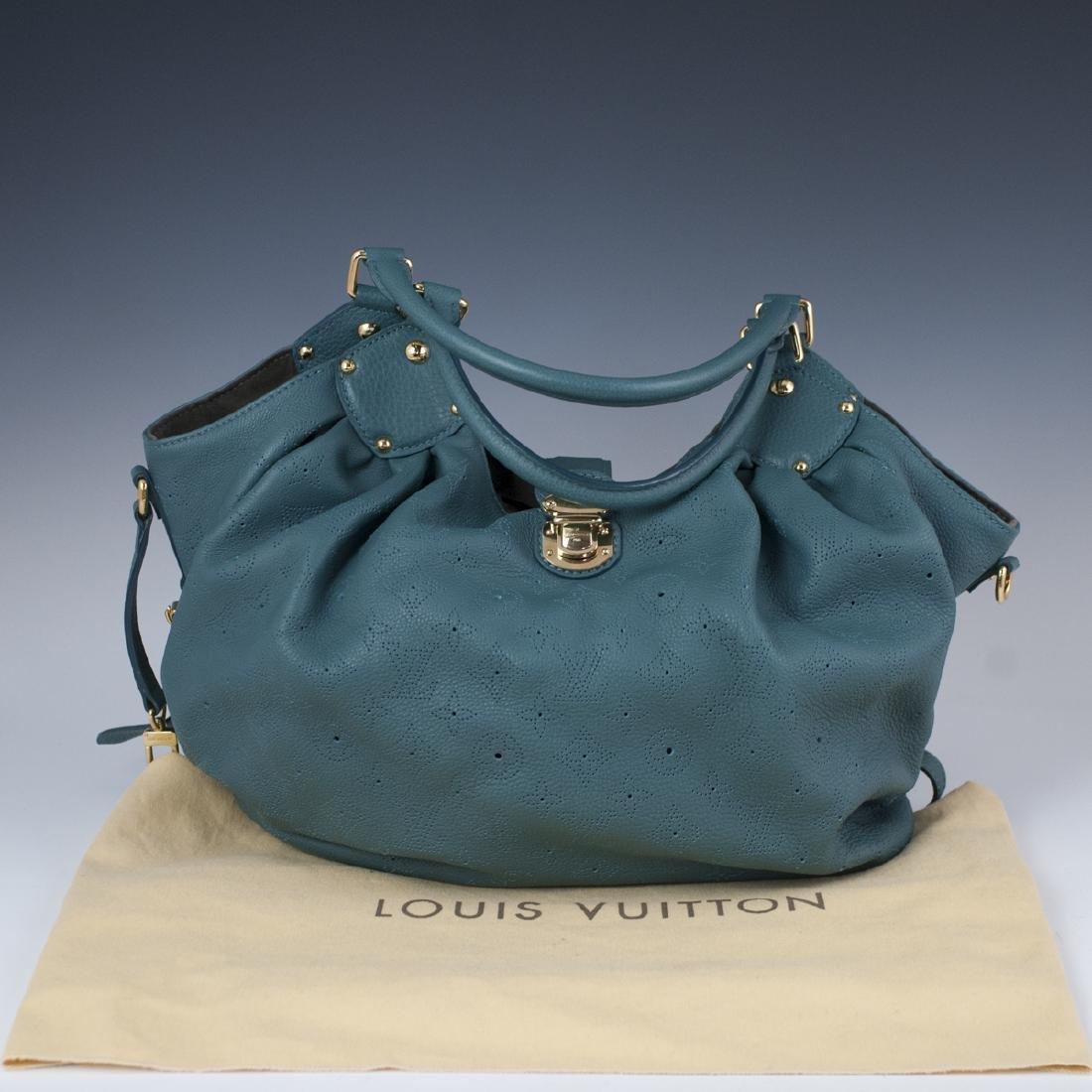 "Louis Vuitton ""Mahina"" Leather Bag"