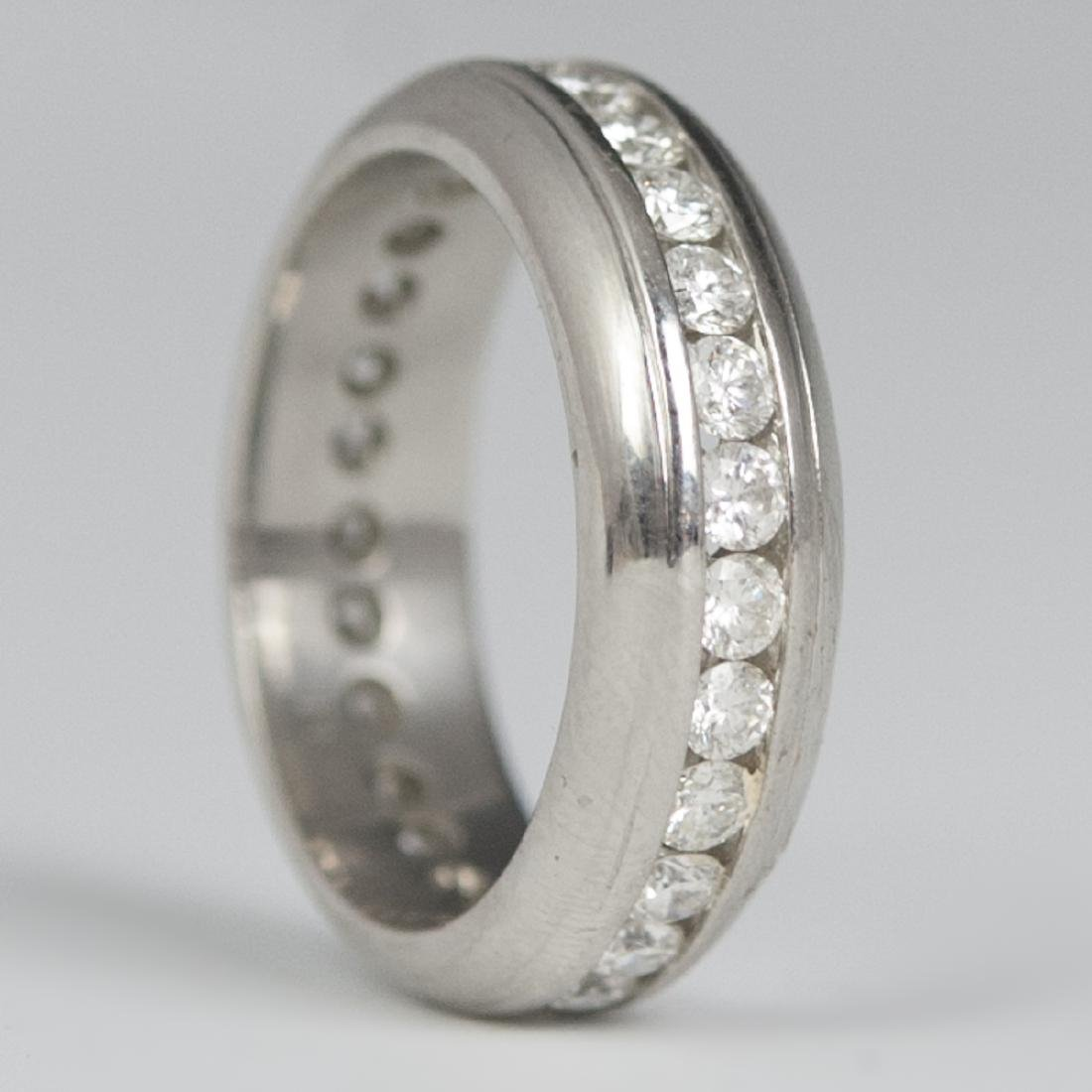 Mayor's Platinum & Diamond Eternity Ring