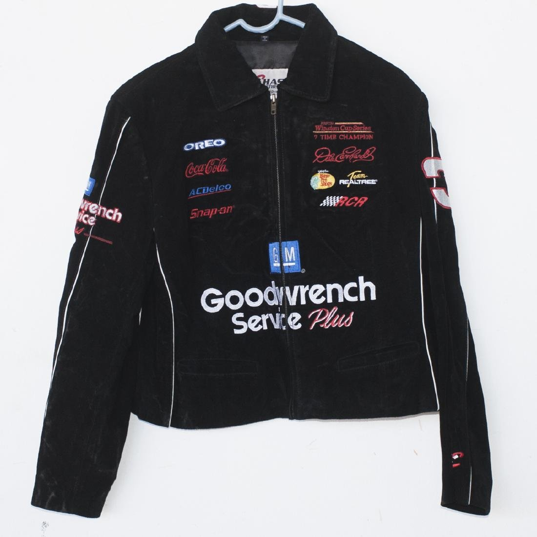 Chase Authentics Leather Nascar Jacket