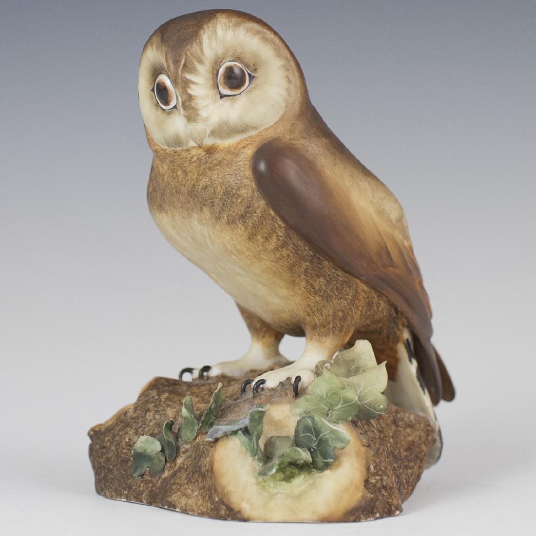 Royal Crown Derby Porcelain Owl