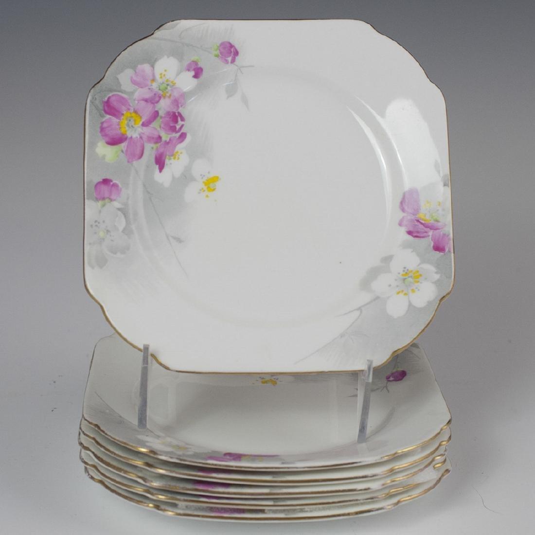 Shelley Porcelain Cocktail Plates