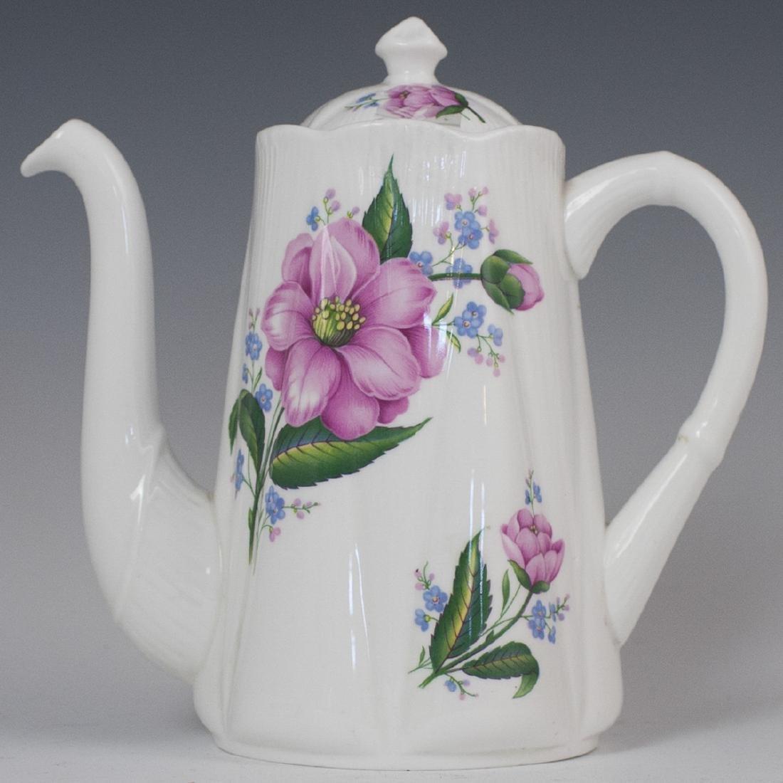 Shelley Bone China Teapot