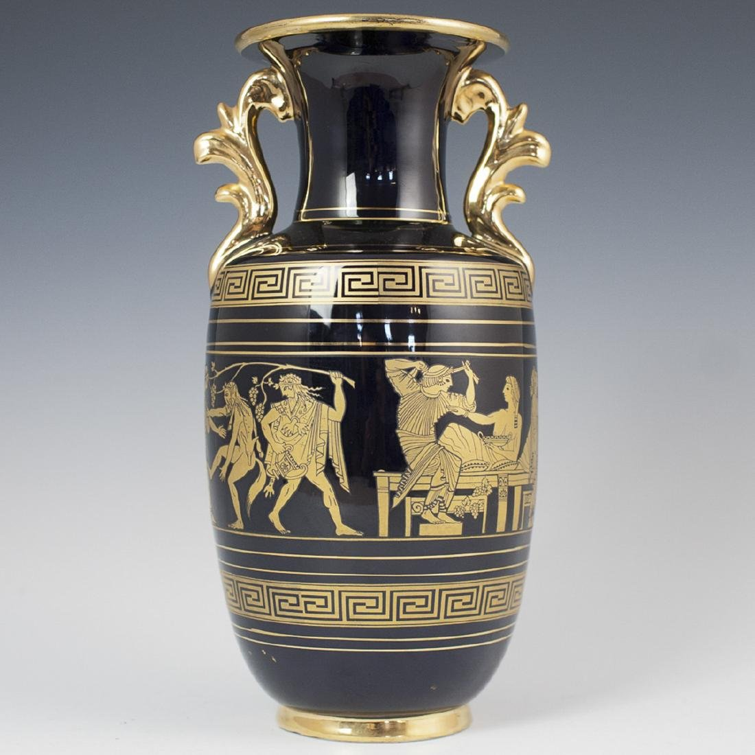 Vintage Greco-Roman Style Vase