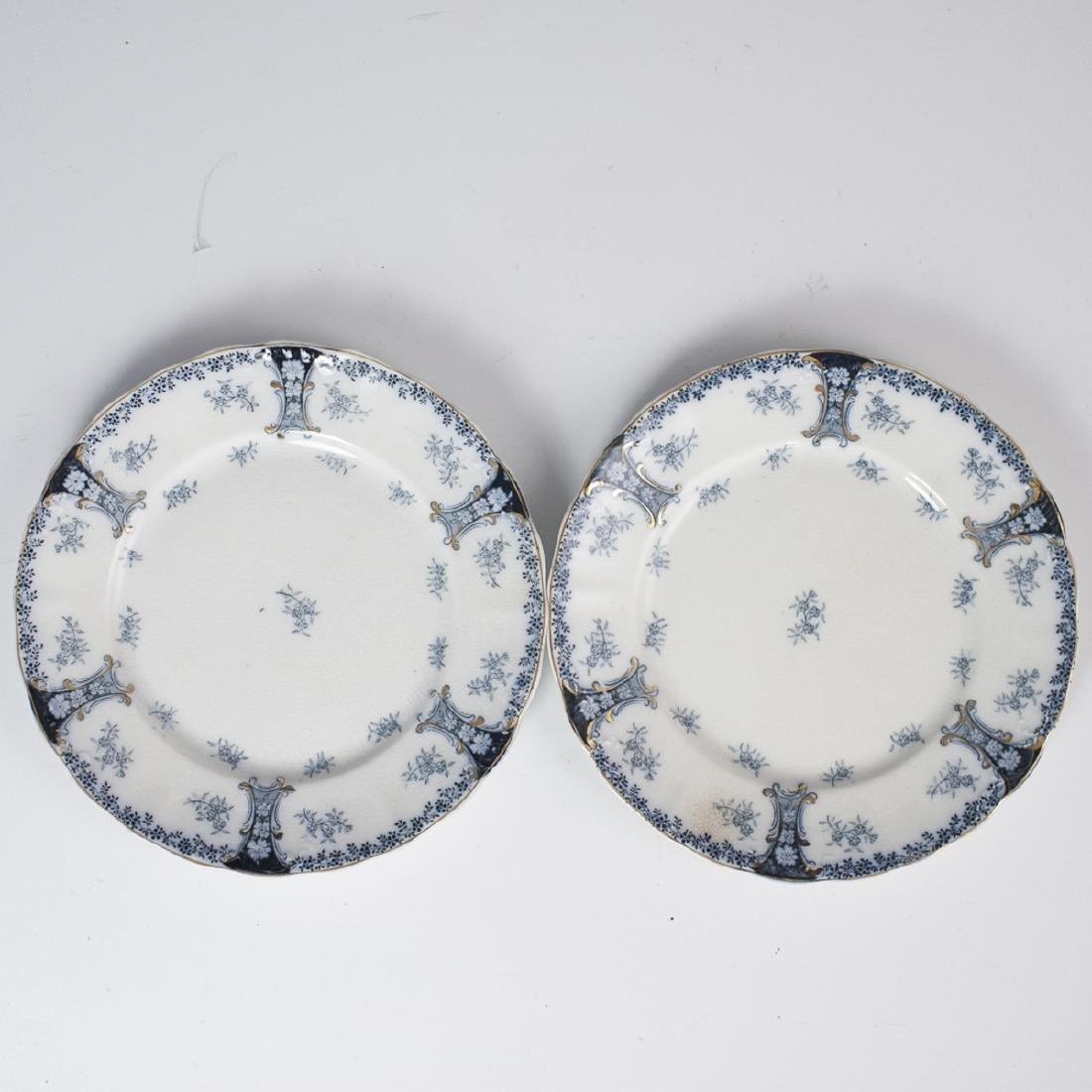 """J&G Meakin """"Diana"""" Porcelain Salad Plates"""