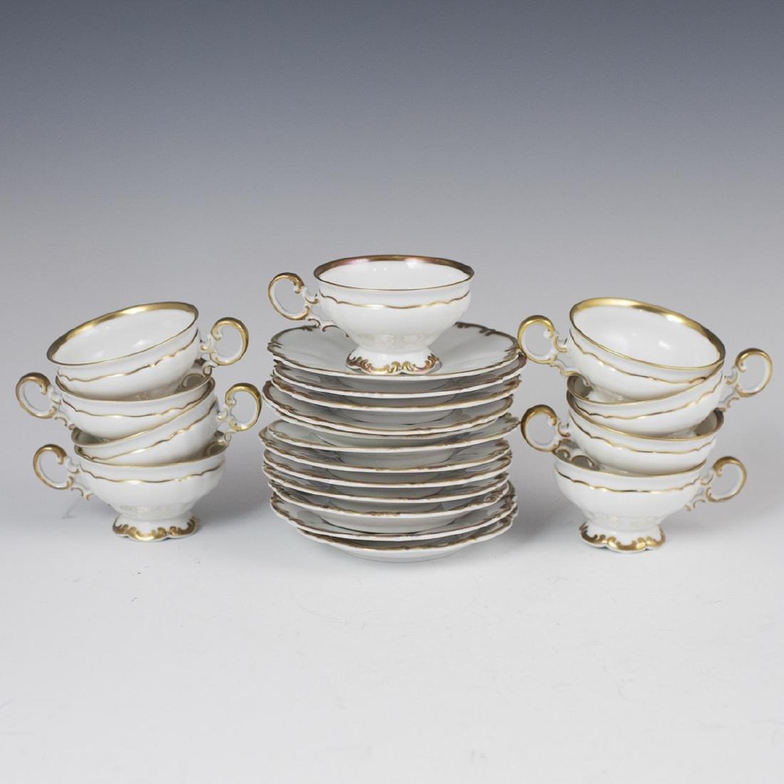 """Vintage Hutschenreuther """"Sylvia"""" Porcelain Demitasse"""