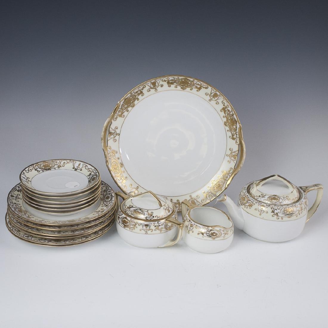 Vintage Nippon Porcelain Tea Set