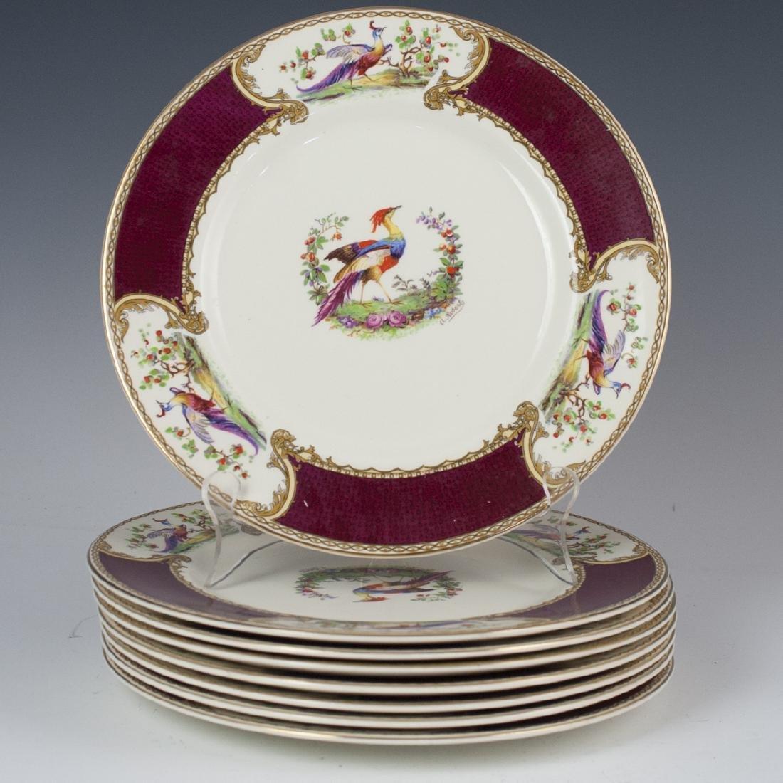 """Myott Staffordshire """"Chelsea Bird"""" Porcelain Dinner"""