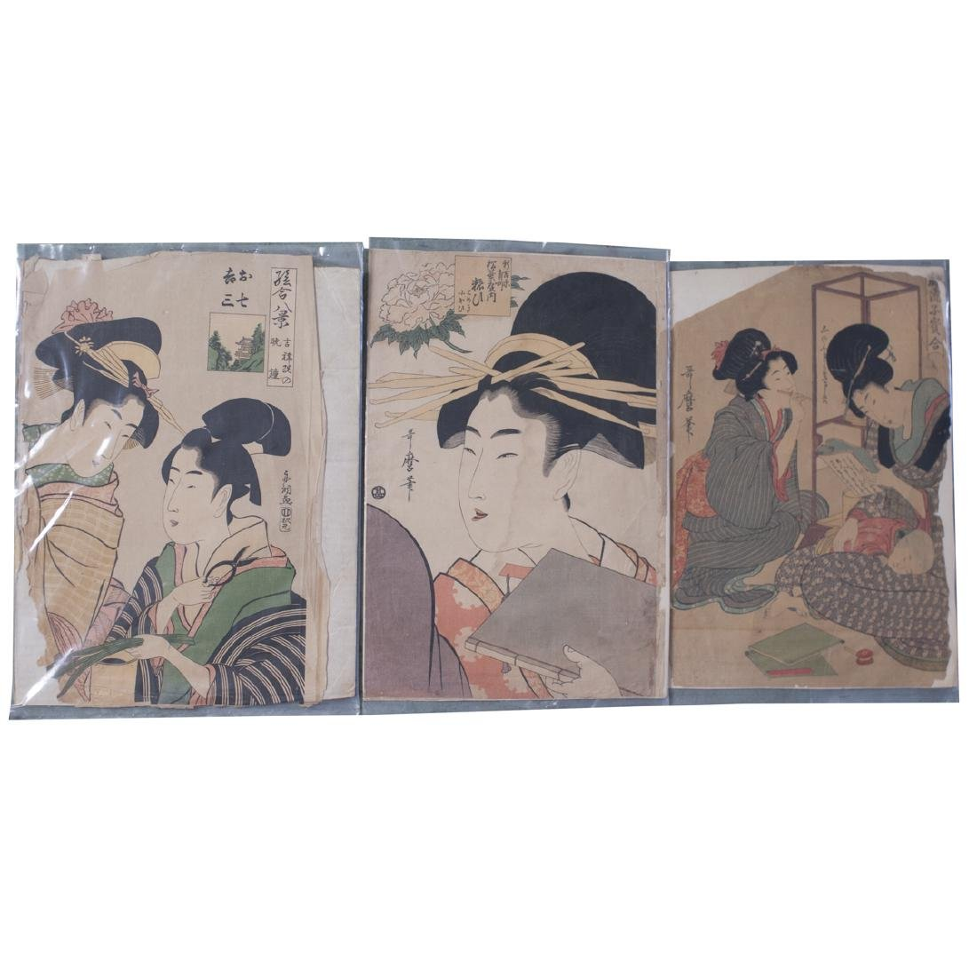 Antique Japanese Woodblock Prints