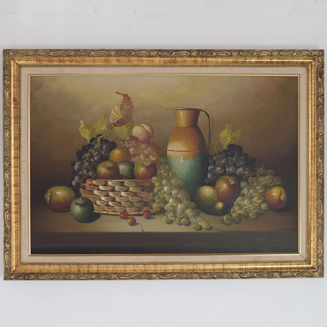 "Oil on Canvas Signed:""Parkey"""