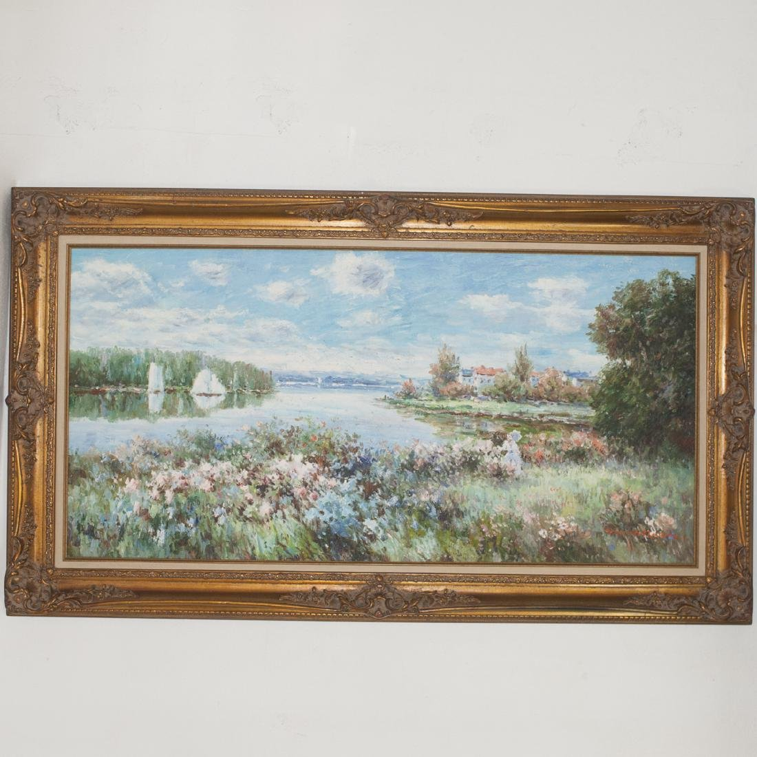 Signed Impressionist Oil on Canvas