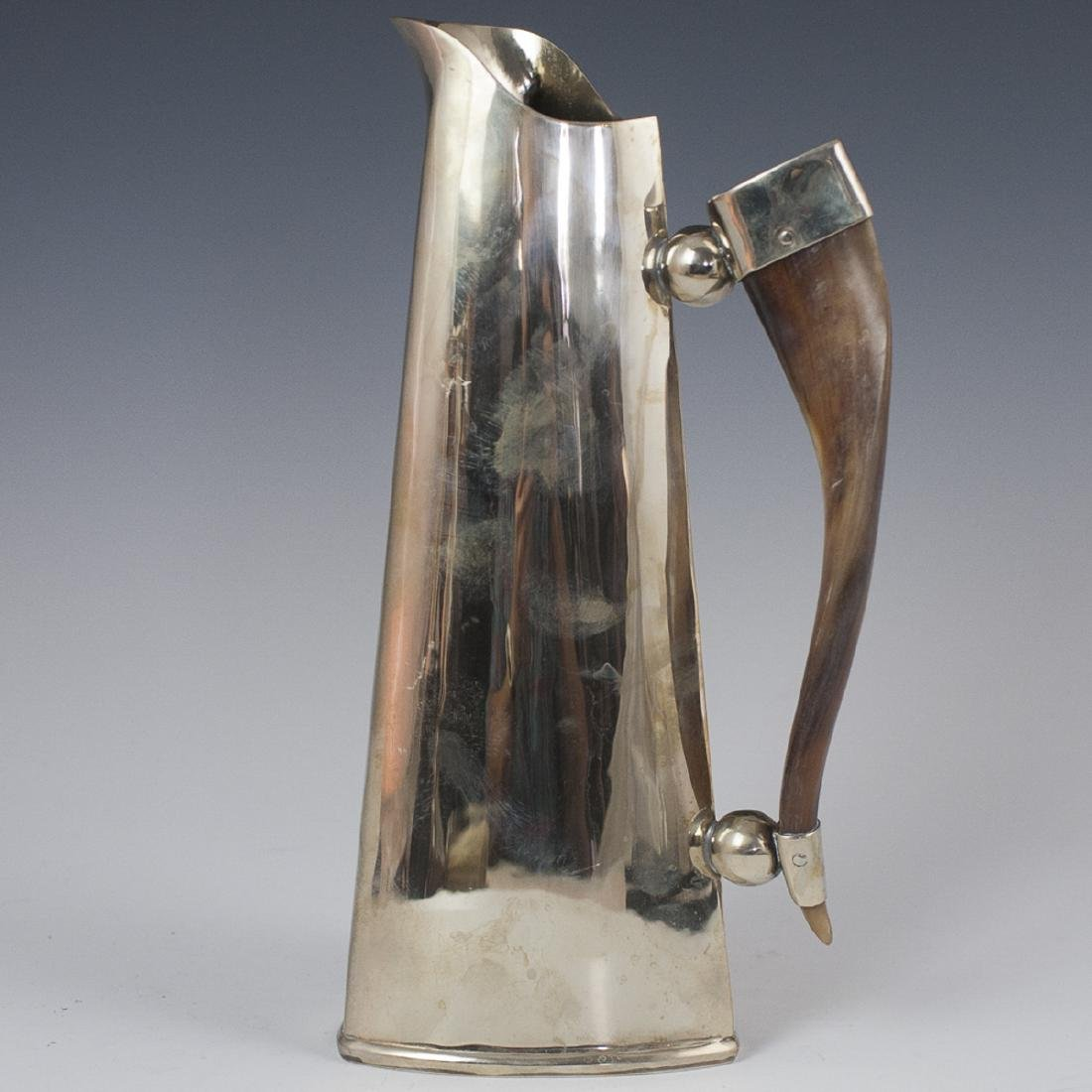 Contemporary Silver Plated Pitcher