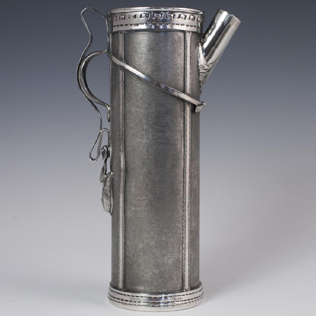 Antique Derby Silverplate Co. Cocktail Shaker