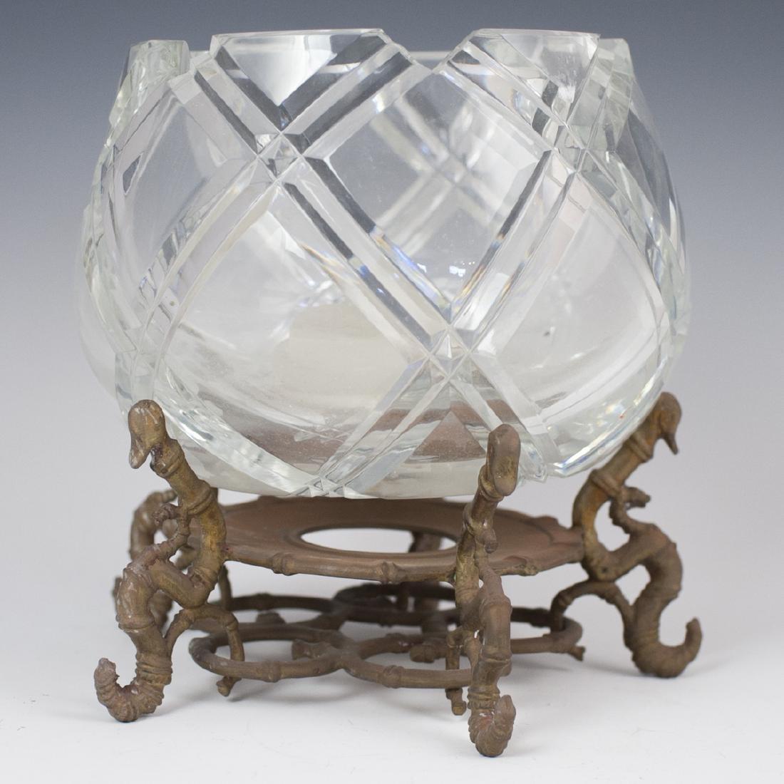 Orrefors Crystal Candle Globe