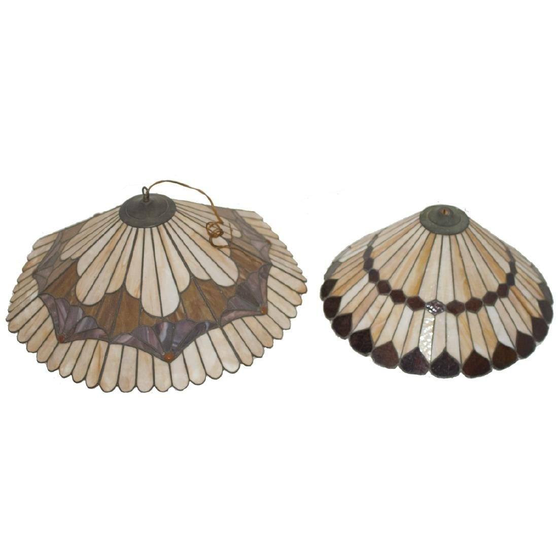 Tiffany Style Slag Glass Lamp Shades