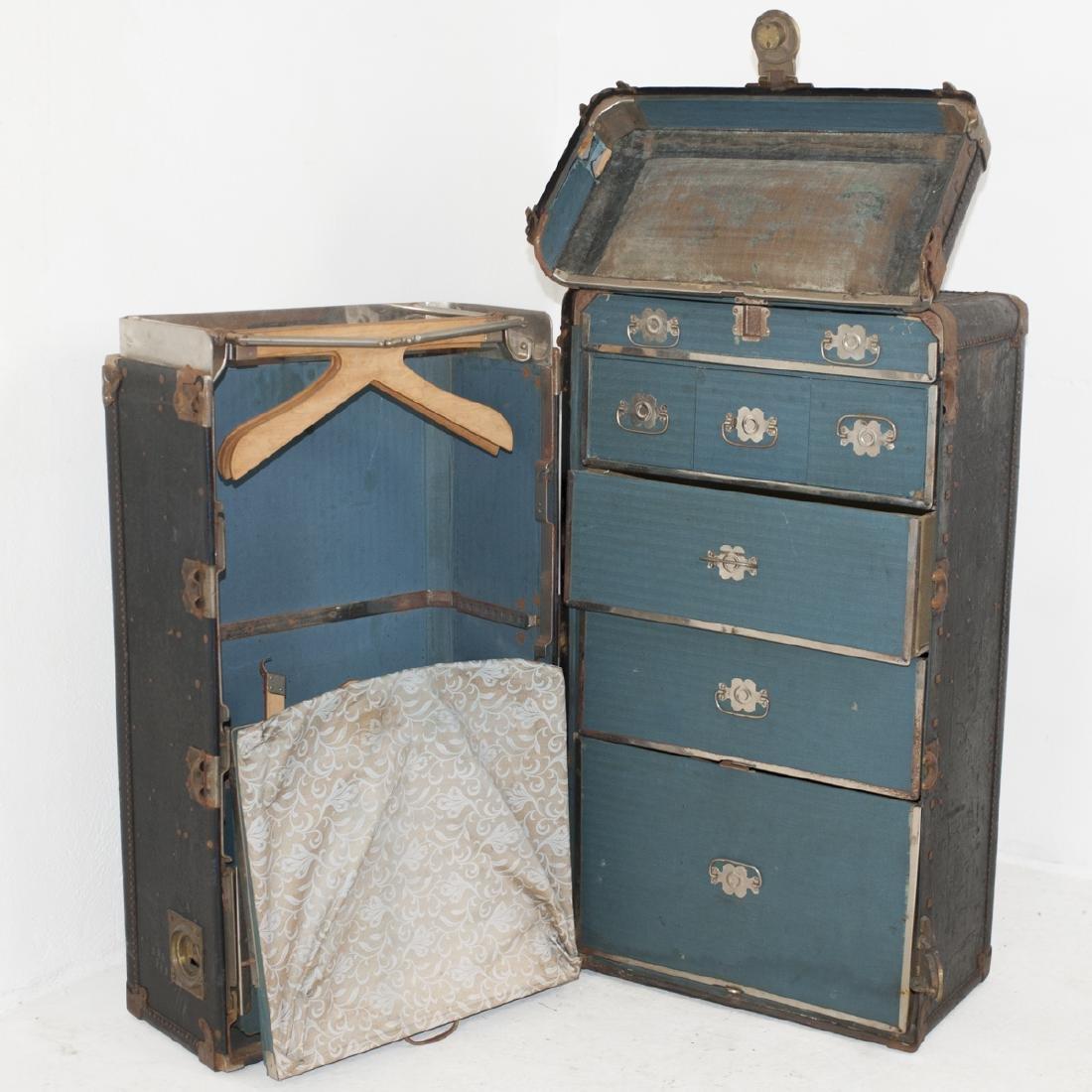 Antique Hartmann Wardrobe Trunk