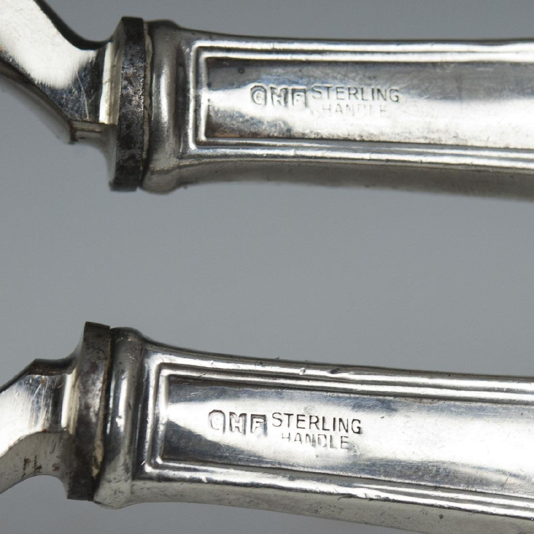 G.H. French & Co. Sterling Handled Grape Shear - 2