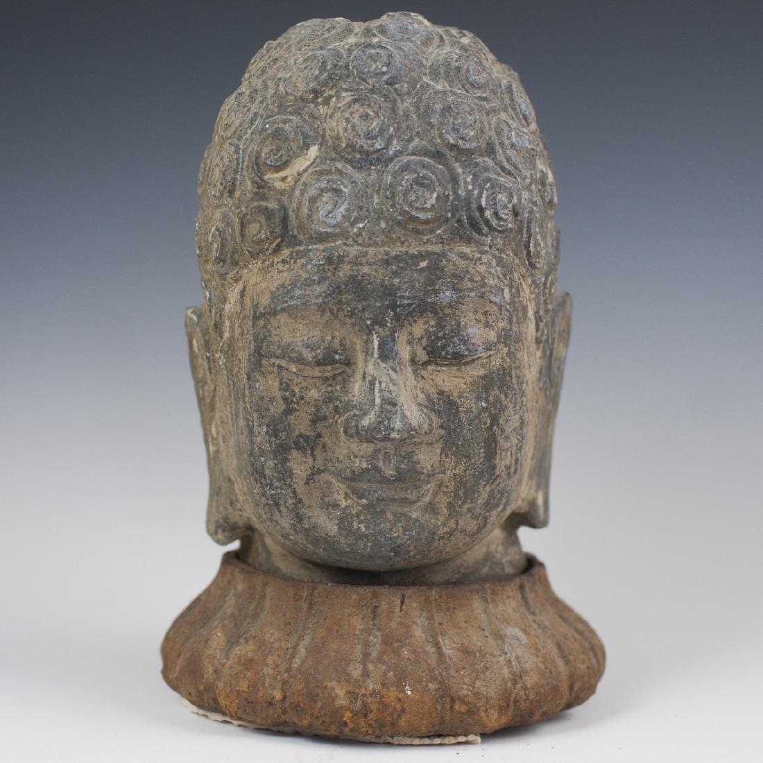 Indonesian Shakyamuni Buddha Head