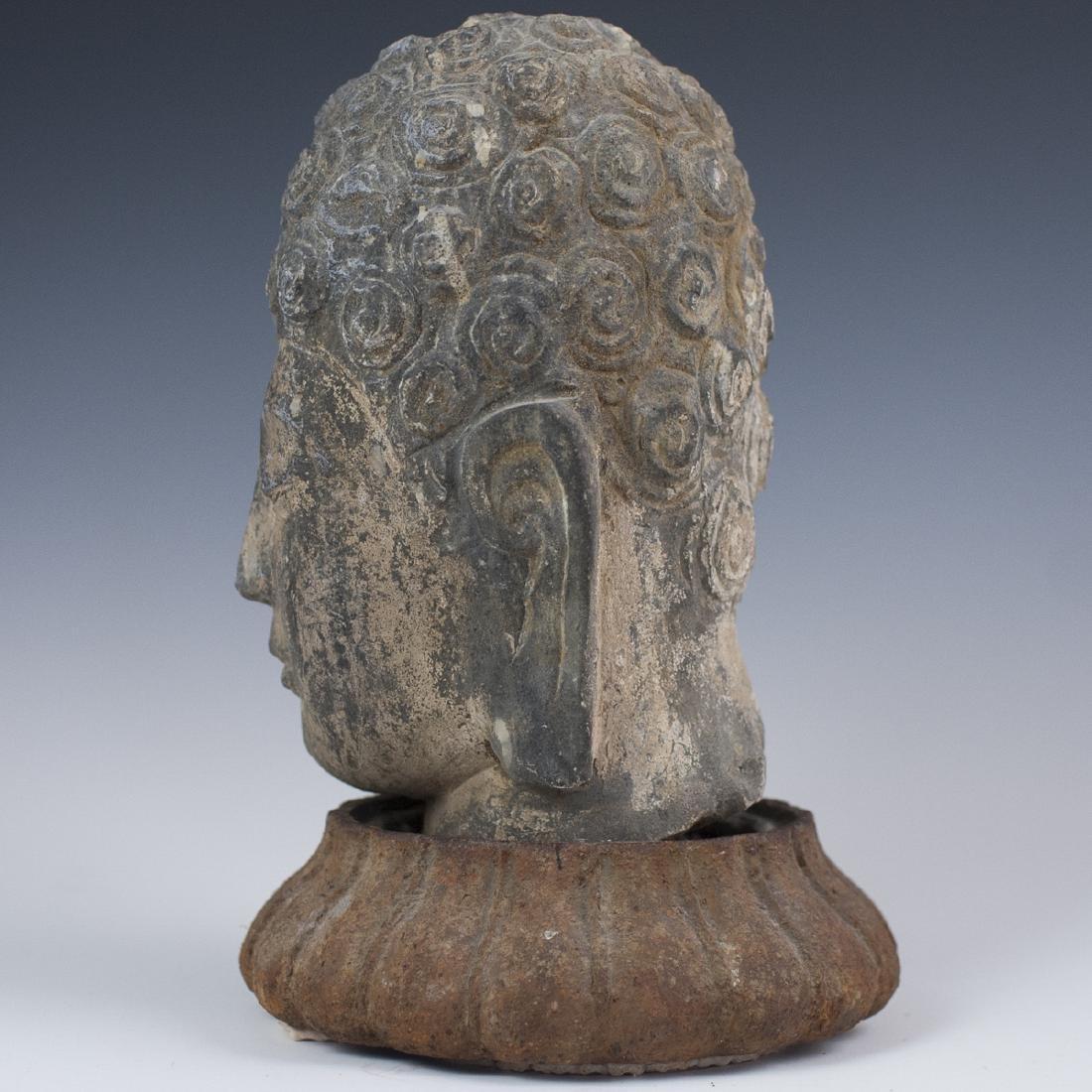 Indonesian Shakyamuni Buddha Head - 4