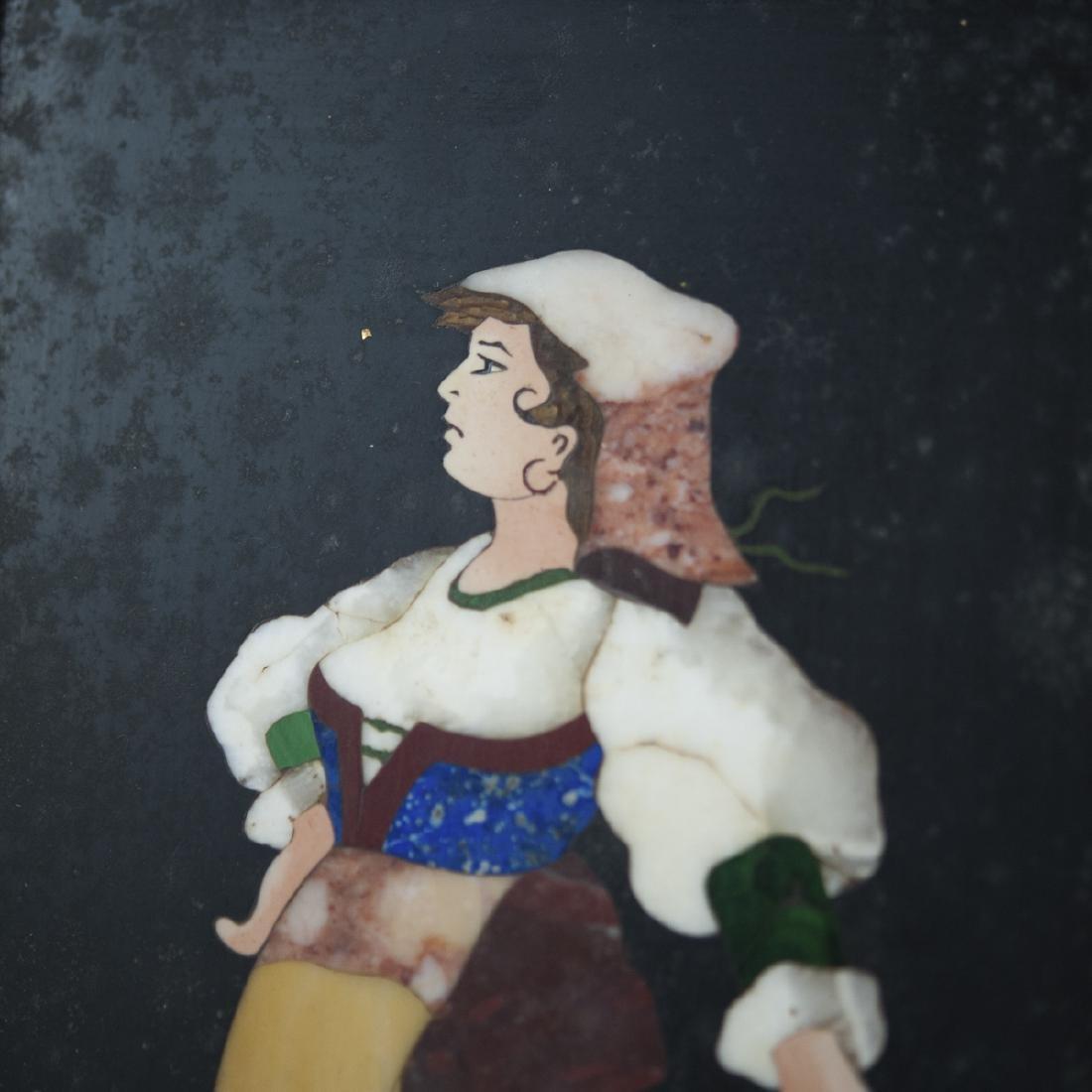 Vintage Italian Pietra Dura - 4