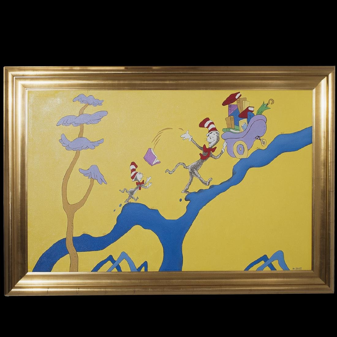 Copy of Dr. Seuss Oil on Canvas