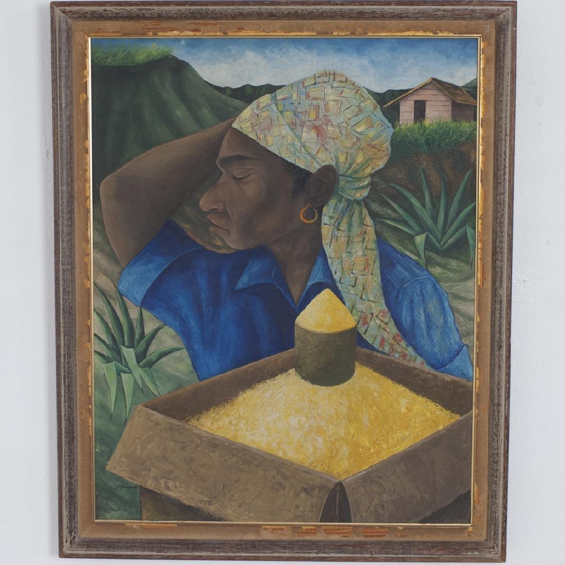 Jacques Enguerrand Gourgue (Haitian 1930 - 1996)