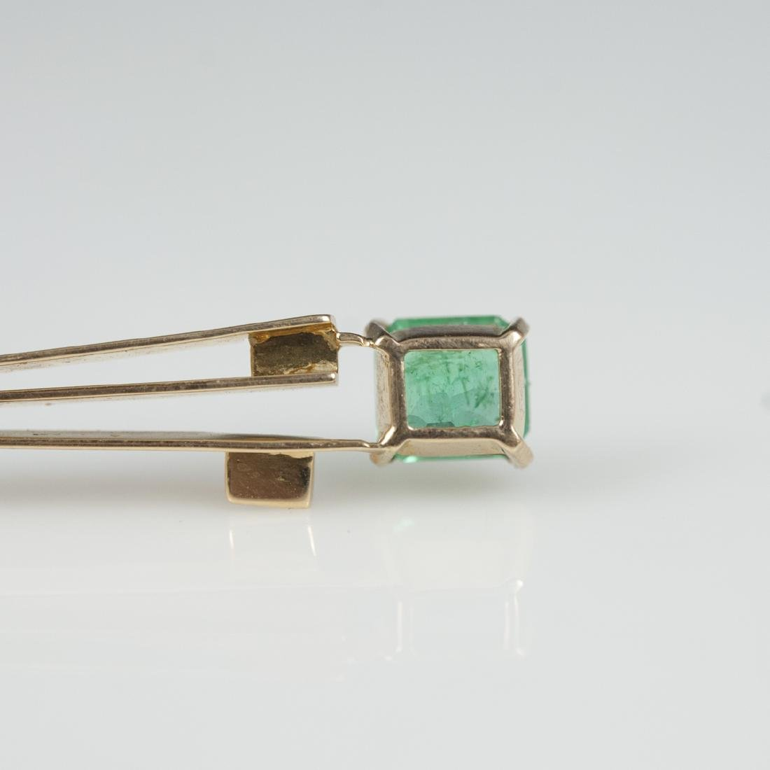 18kt Gold & Emerald Pendant - 4