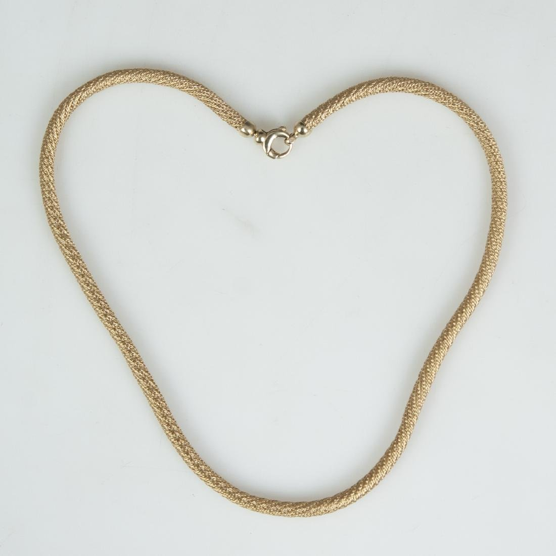Vintage Italian 14kt Gold Necklace