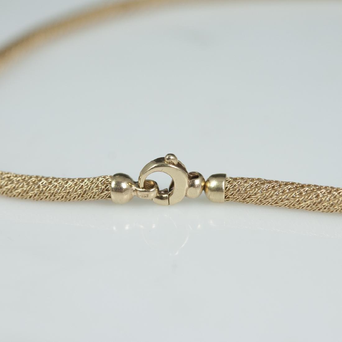 Vintage Italian 14kt Gold Necklace - 2