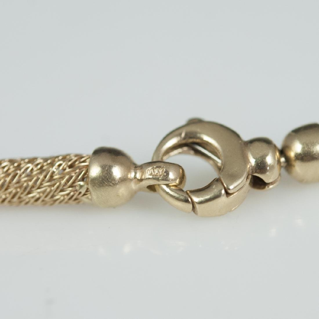 Vintage Italian 14kt Gold Necklace - 3