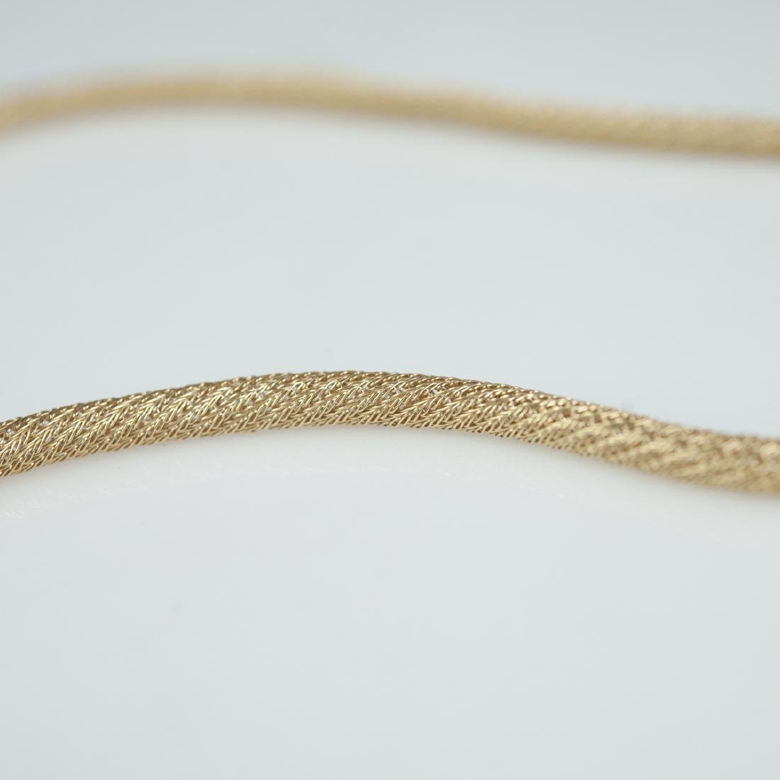 Vintage Italian 14kt Gold Necklace - 4