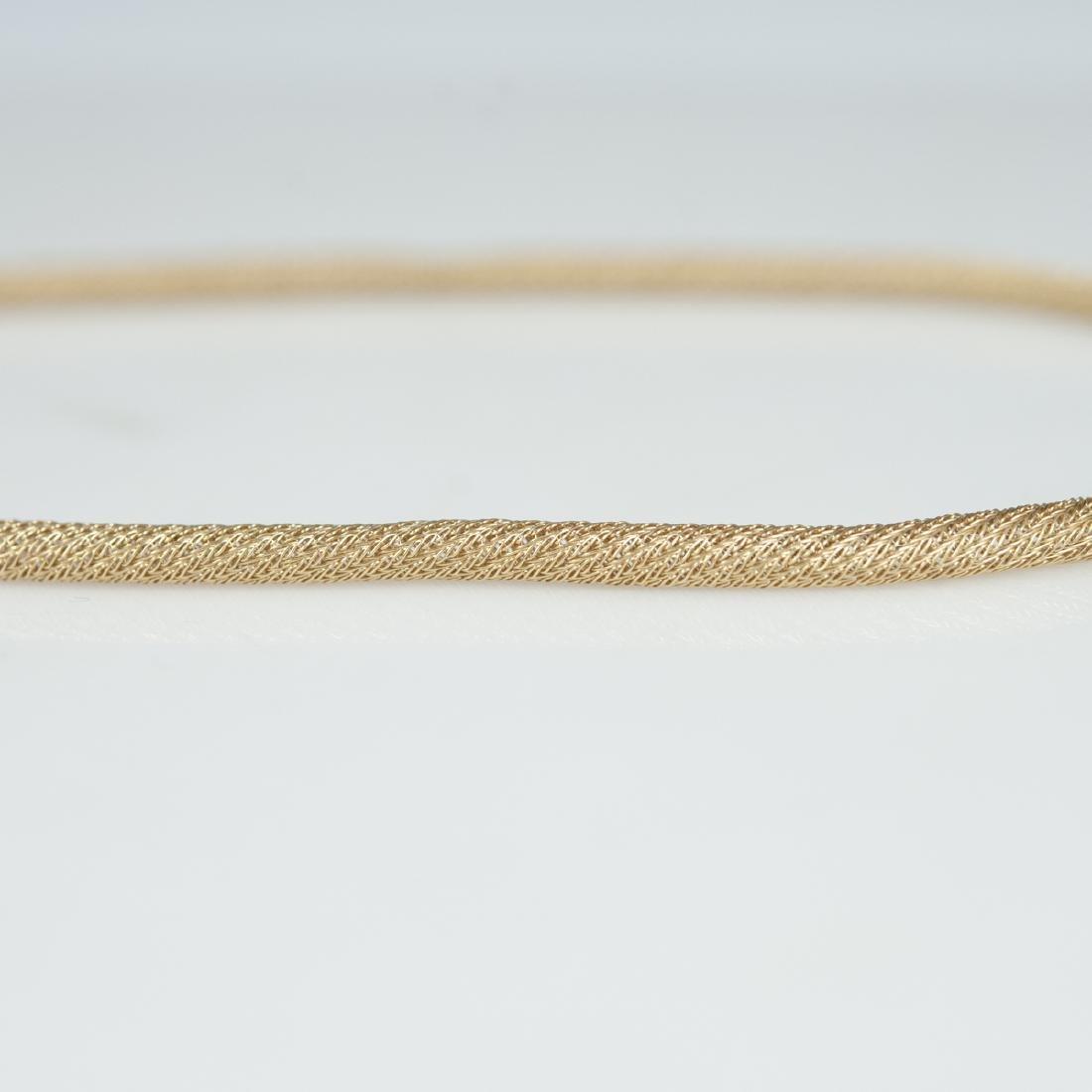Vintage Italian 14kt Gold Necklace - 6