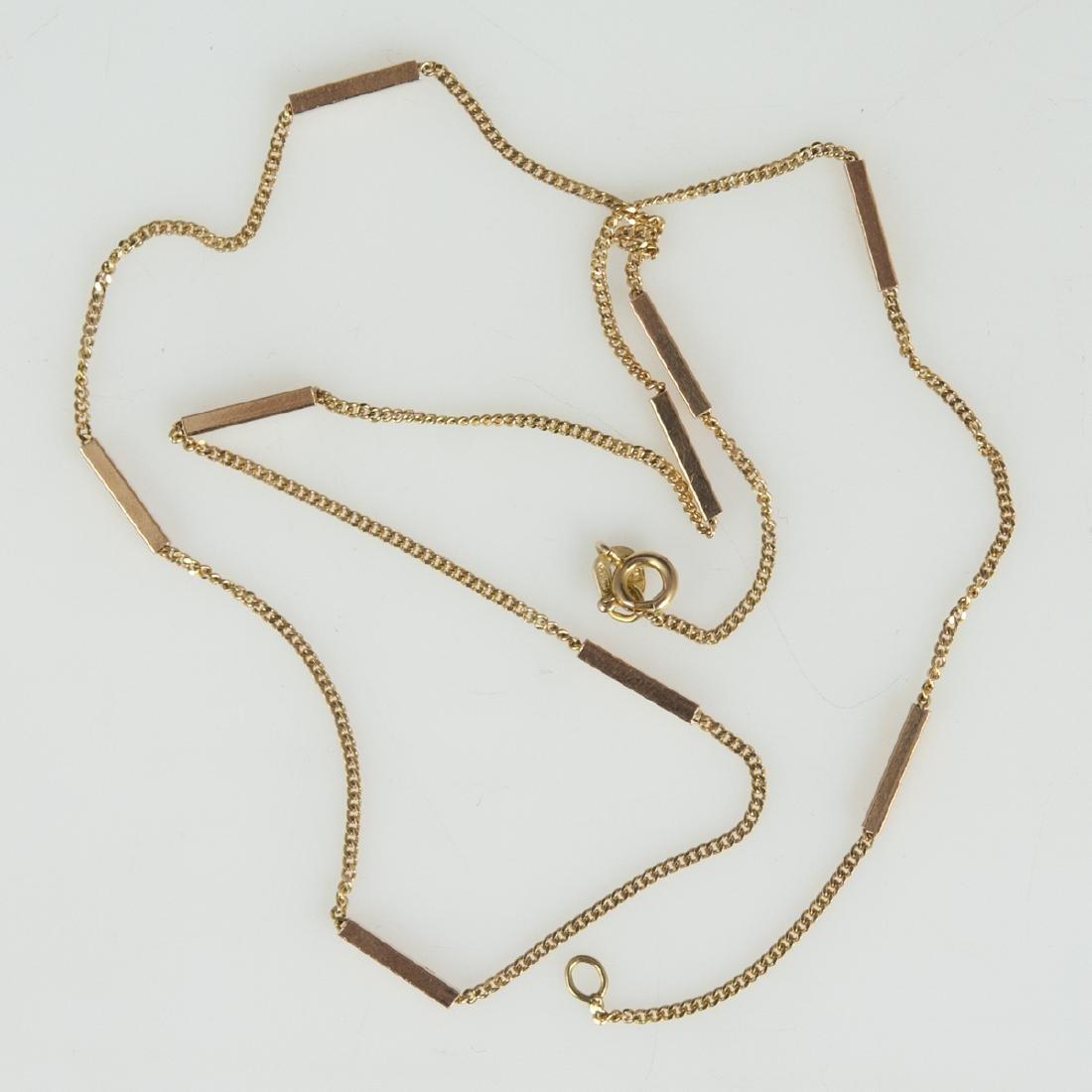 Balestra Italian 14kt Gold Necklace