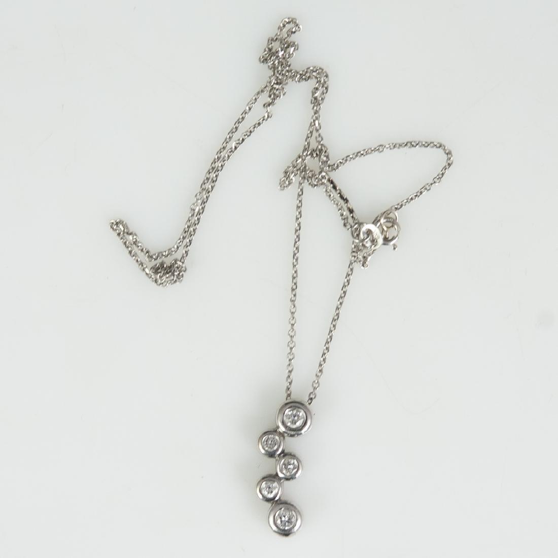 14kt Gold & Diamond Necklace