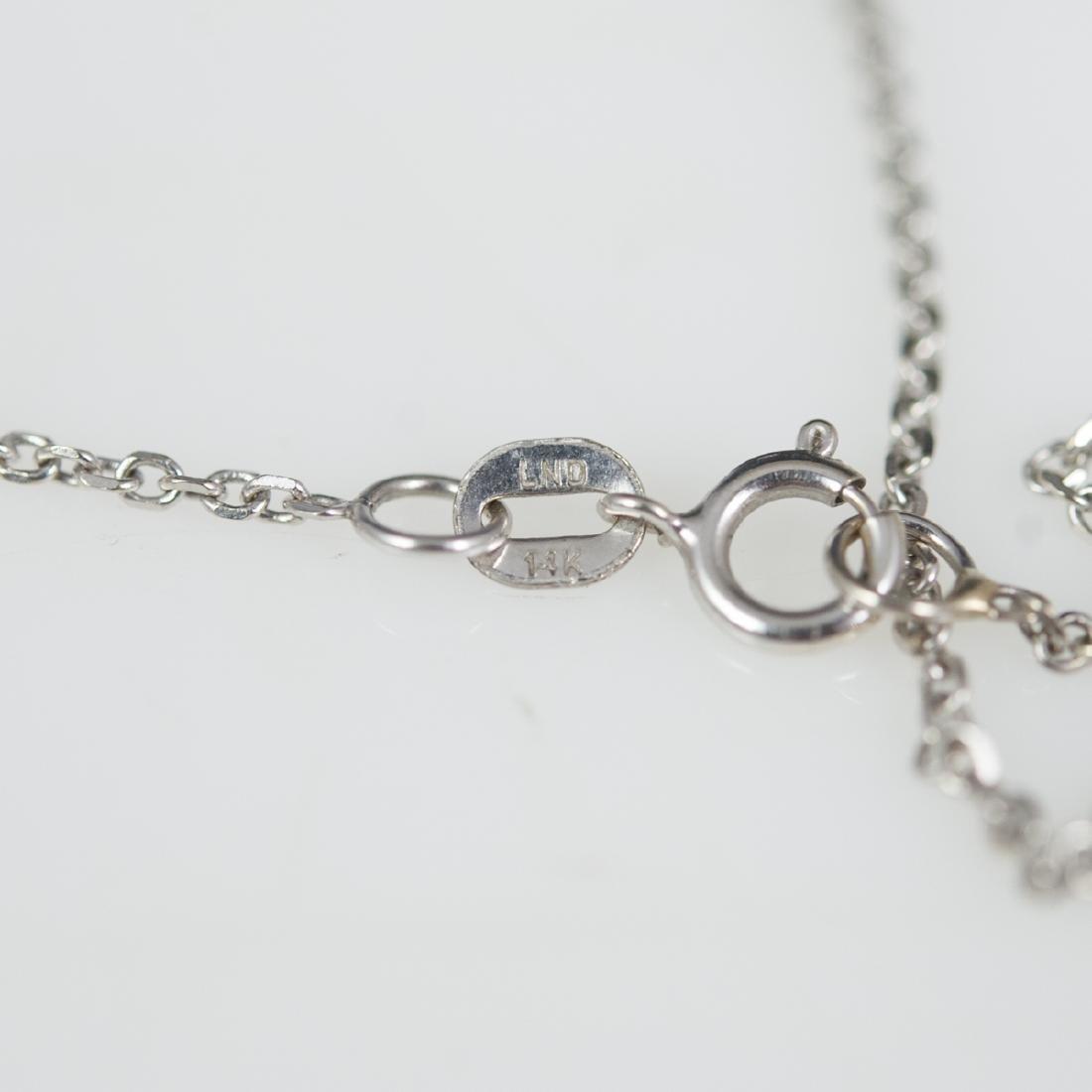 14kt Gold & Diamond Necklace - 3