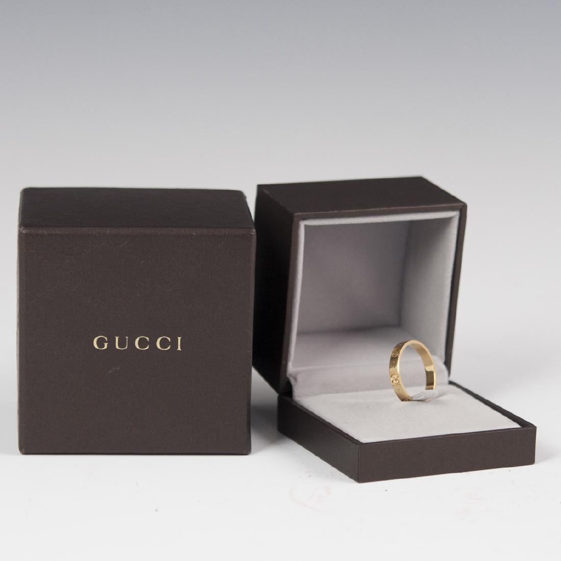 18kt Gucci Icon Ring