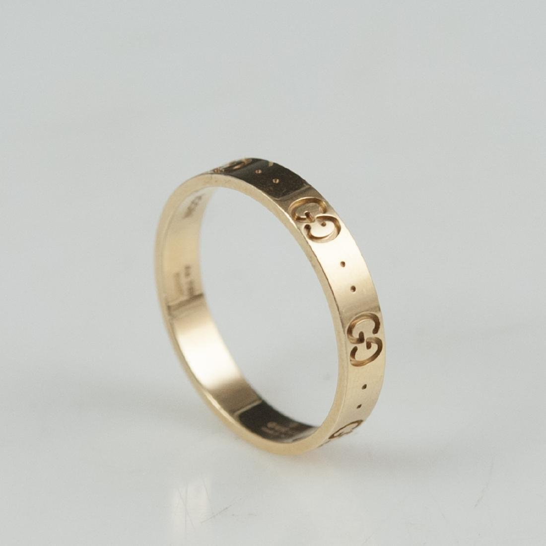 18kt Gucci Icon Ring - 2