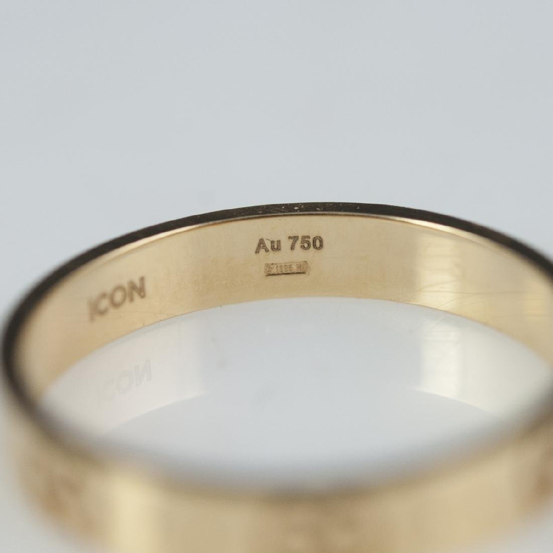 18kt Gucci Icon Ring - 3