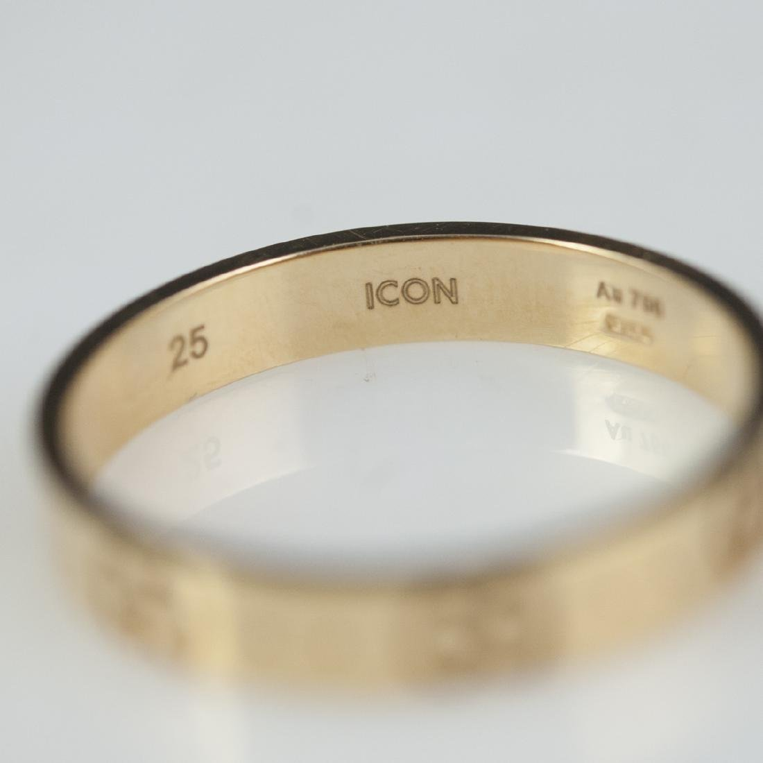 18kt Gucci Icon Ring - 5