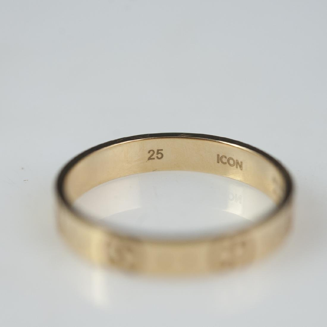 18kt Gucci Icon Ring - 6