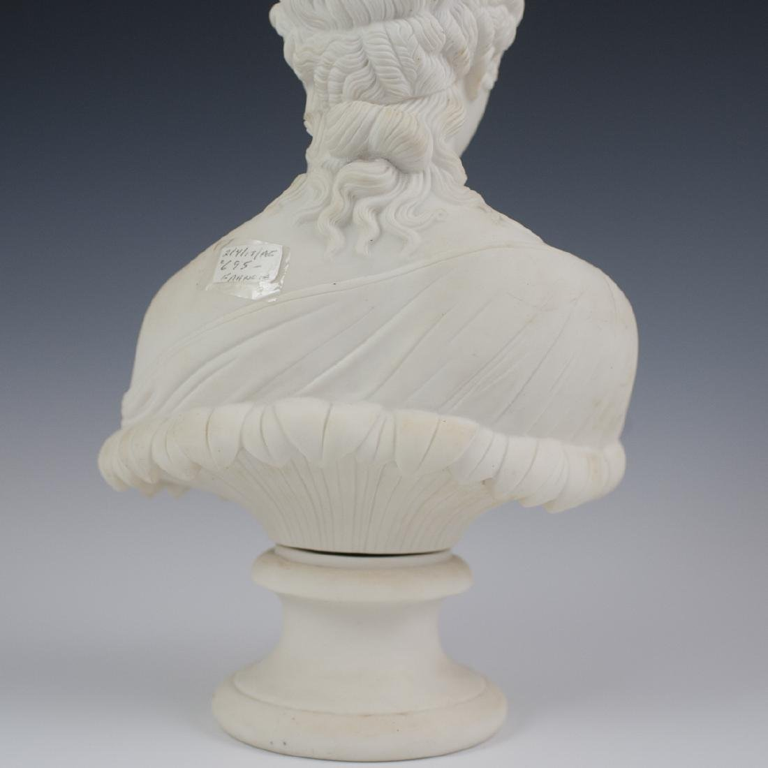 Antique French Parian Ware Bust - 4