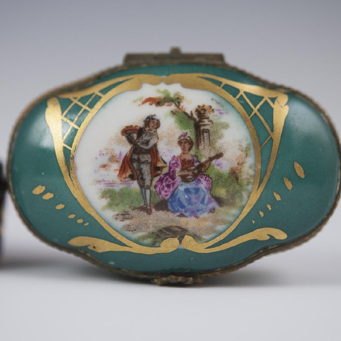 Limoges Porcelain Trinket Boxes - 2