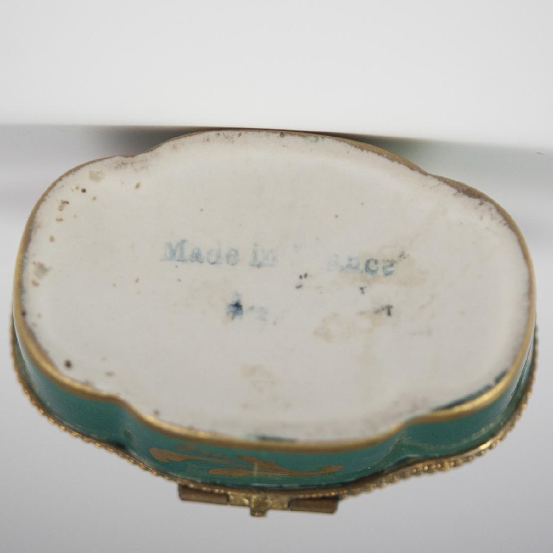Limoges Porcelain Trinket Boxes - 5