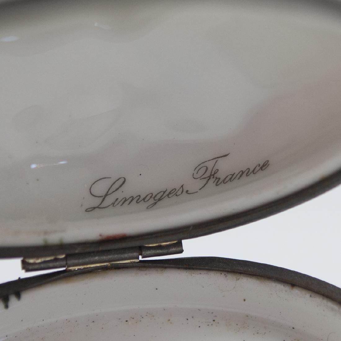 Limoges Paris-Style Porcelain Pill Box - 5