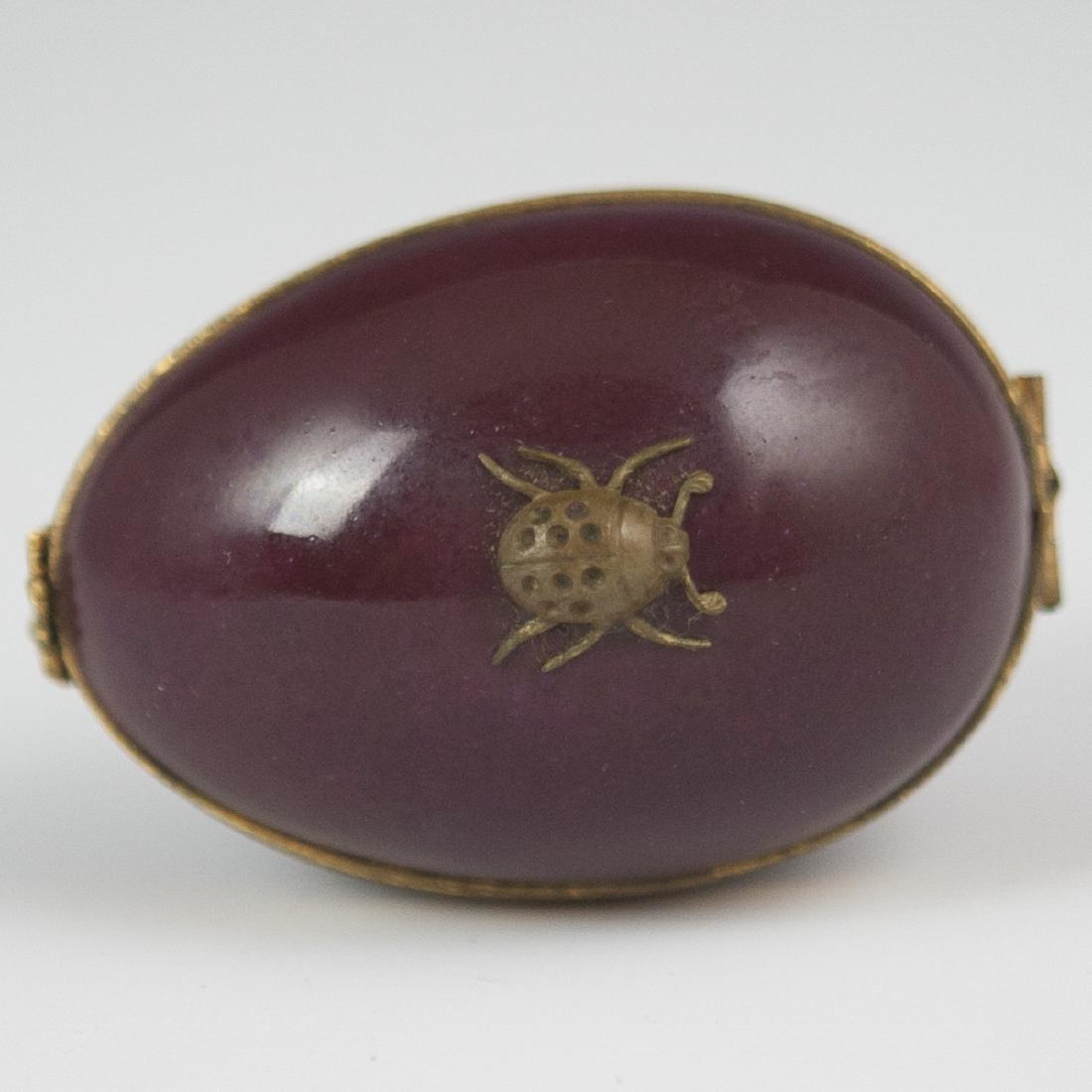 Limoges Porcelain Pill Box - 2