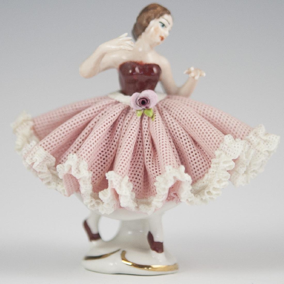 Wilhelm Rittirsch Porcelain Ballerina