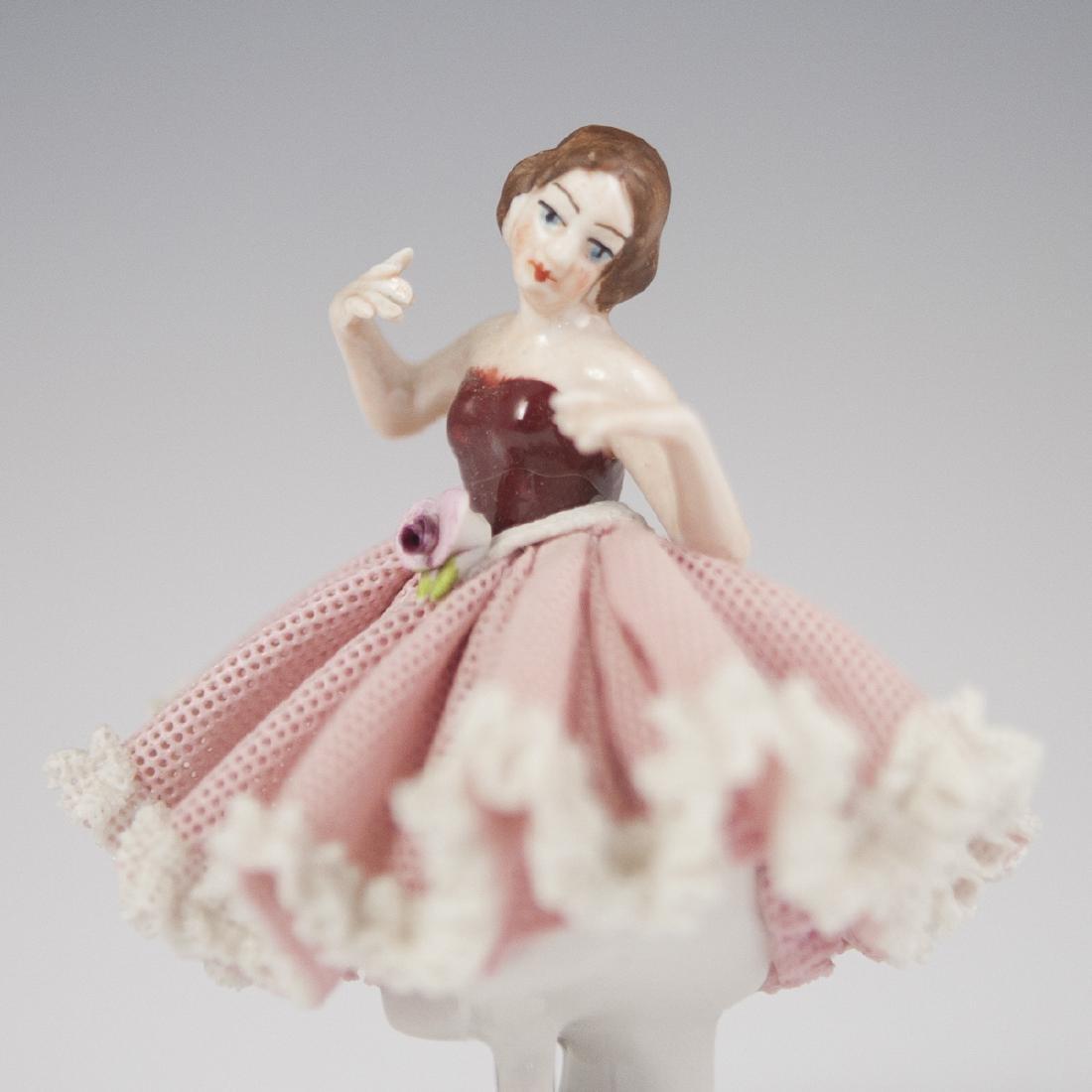 Wilhelm Rittirsch Porcelain Ballerina - 4